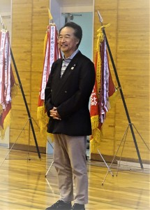 東濃バレーボール協会 纐纈理事長 挨拶