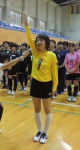 選手宣誓 ミニ~ず(緊張と笑顔)
